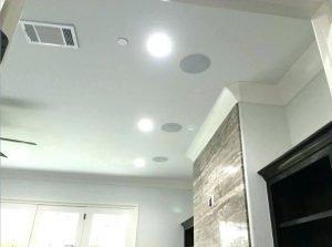 ceiling mounted speaker system