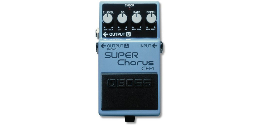 BOSS CH-1 Stereo Super Chorus Guitar Pedal