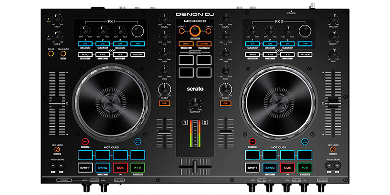 Denon DJ MC4000 | Premium 2-Channel DJ Controller
