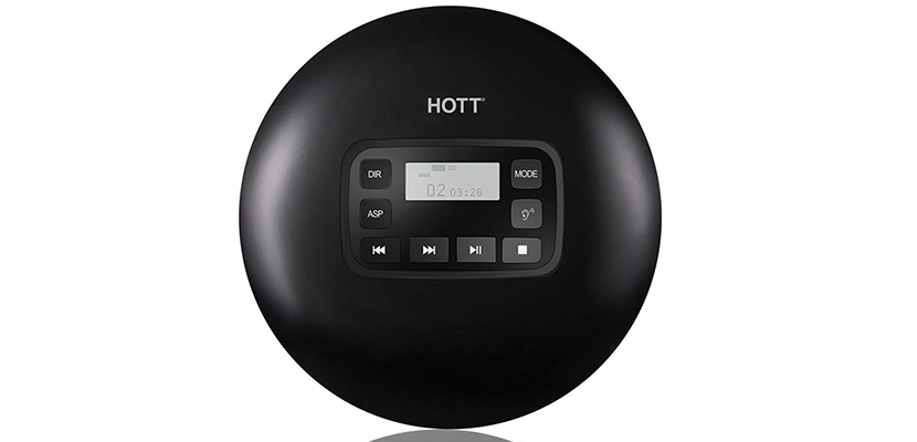 HOTT CD611 Portable CD Player