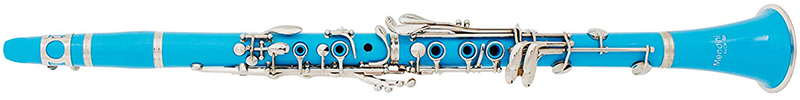 Mendini MCT-SB+SD+PB Sky Blue ABS B Flat Clarinet