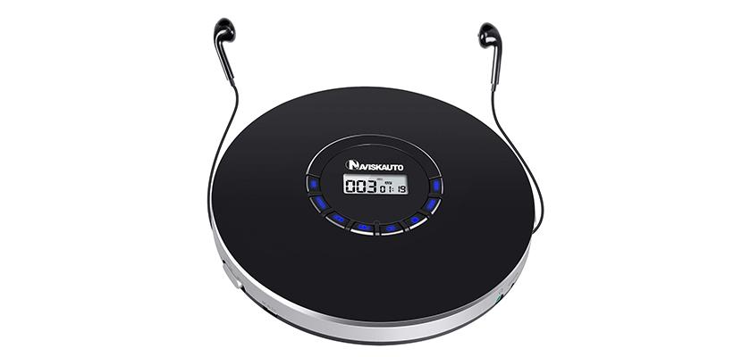 NAVISKAUTO Rechargeable Portable CD Player
