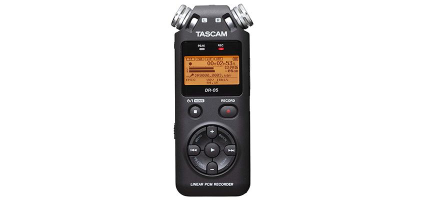 Tascam DR-05V2 Portable Studio Recorder