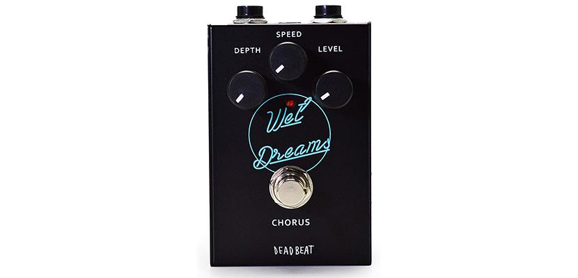 WET DREAMS Analog Chorus Effect Pedal