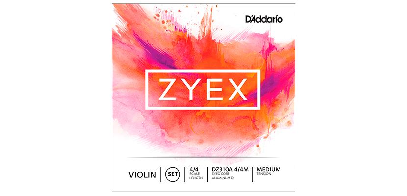 D'Addario Zyex with Aluminum D