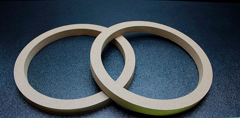 cut out the rings