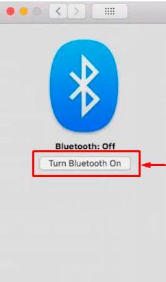 Turn Bluetooth On